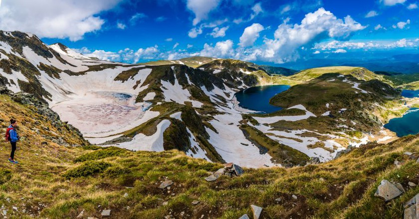 Amazing panorama of Seven Rila Lakes in Bulgaria | © Evgeni Fabisuk/Shutterstock