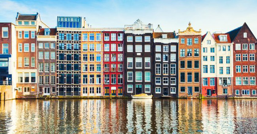 Amsterdam houses | © Olga Gavrilova / Shutterstock