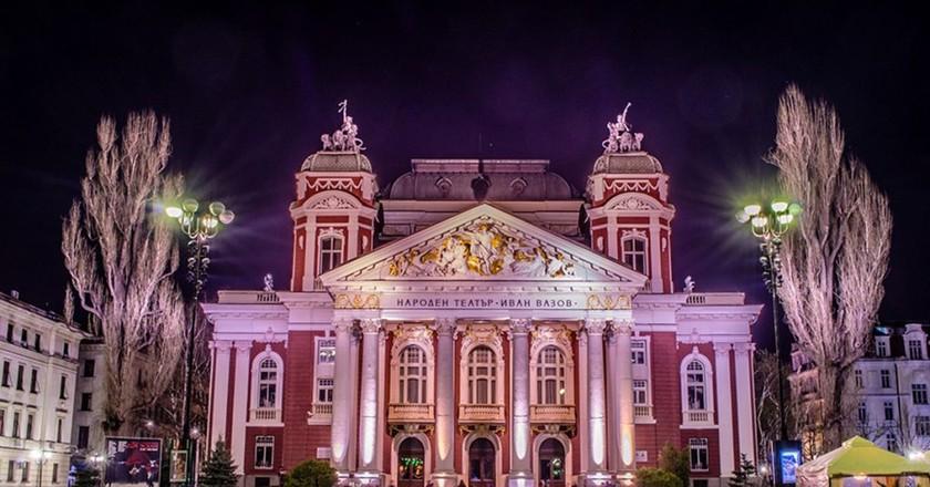 National Theater in Sofia   © Tulazeph/WikiCommons