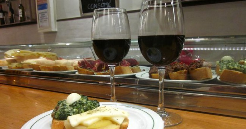 Check out these cheap places to have a drink in Madrid    © Lori Zaino