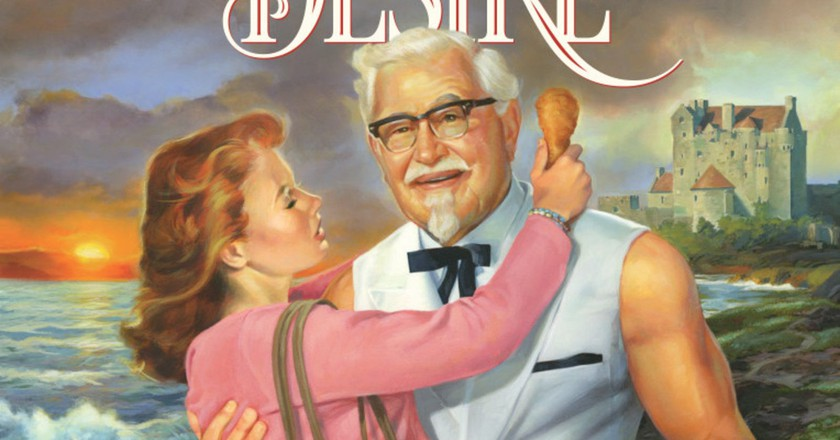 From the cover   Courtesy of KFC