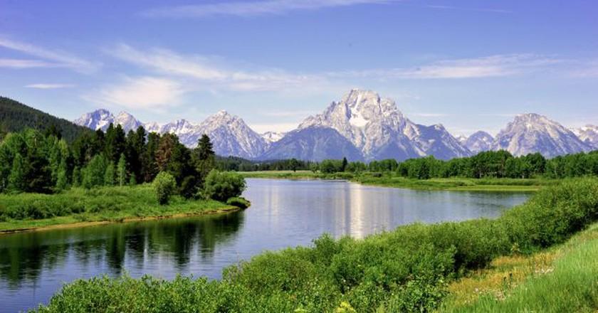 "<a href=""https://www.flickr.com/photos/evergreenkamal/4849551558/"" target=""_blank"" rel=""noopener noreferrer"">Teton Mountains   © Kamal Hamid / Flickr</a>"