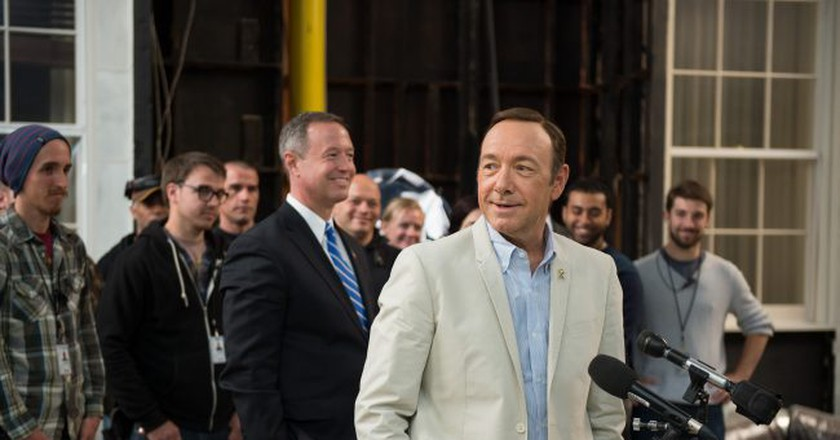 Kevin Spacey at the House of Cards studio | © Maryland GovPics / Flickr