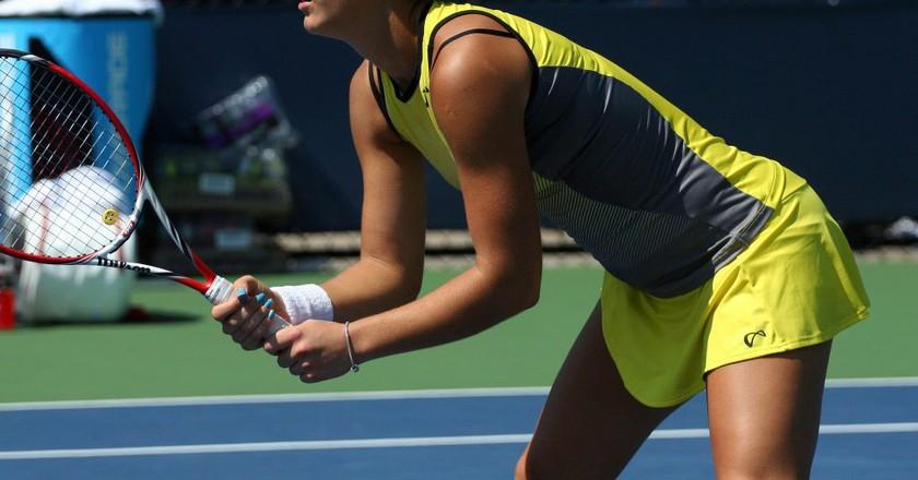 Bernarda Pera (USA), U.S Open | © robbiesaurus/flickr