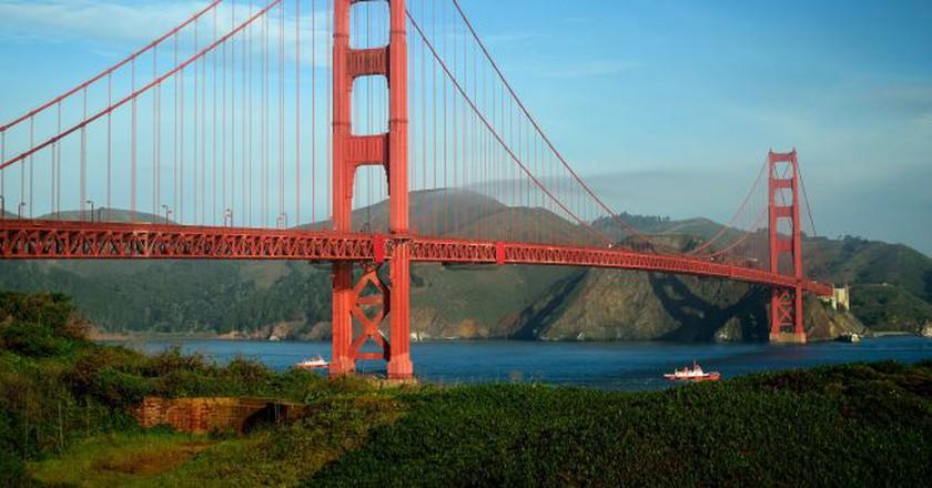 Golden Gate Bridge   © Tom Hilton / Flickr