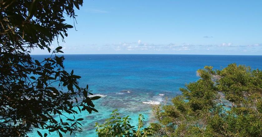 View of the sea from Isla de Mona   © Felix Lopez/ Flickr