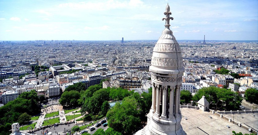 Views from the Sacré-Coeur │© Mike Norton / Wikimedia Commons