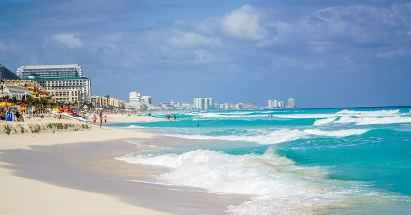 Cancún beach | © Mariamichelle/Pixabay