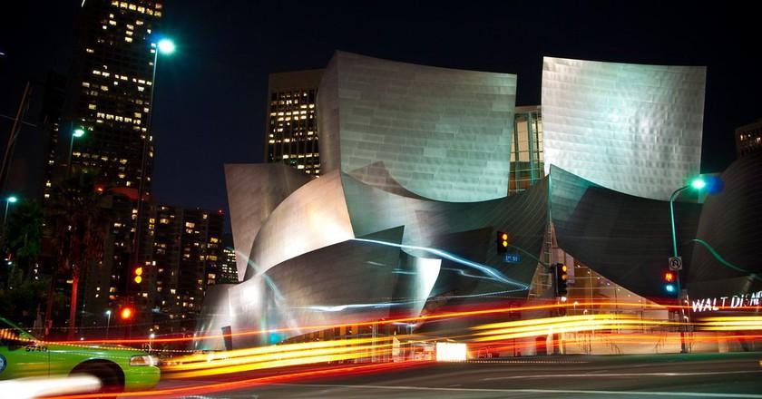 Walt Disney Concert Hall, downtown L.A.   © Didier Baertschiger / Flickr