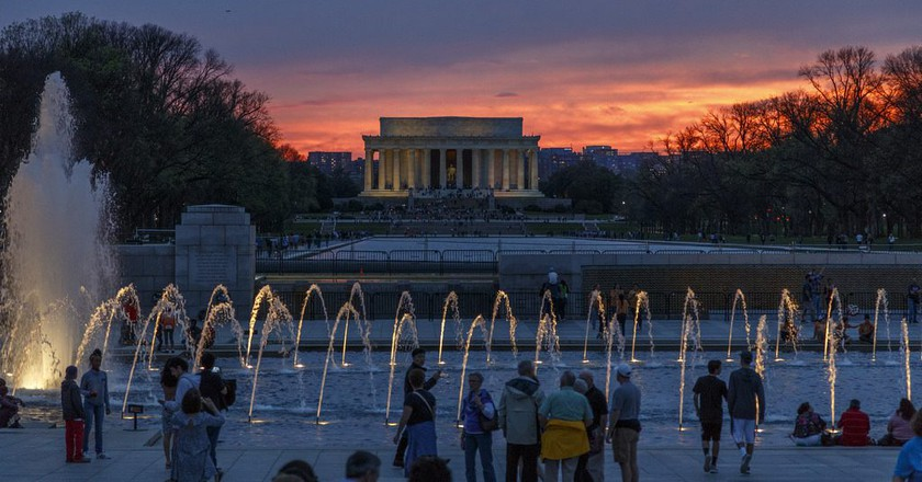 Lincoln Memorial in Washington D.C. | © Richard Ricciardi/Flickr