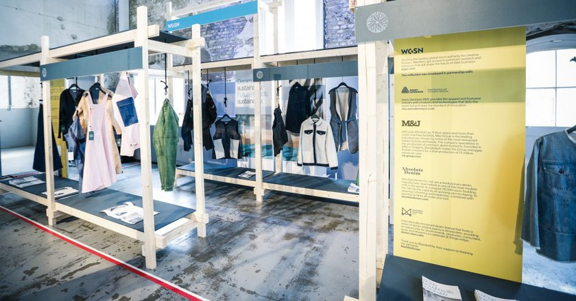 WGSN Sustainable Denim Collection at Amsterdam's Denim Days © WGSN