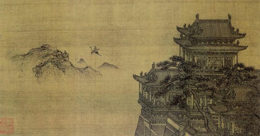 The Yellow Crane Tower | ©  Xia Yong / Wikimedia