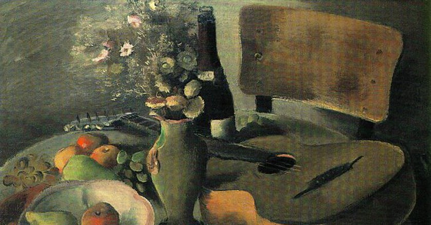 Still Life With a Guitar by Nenko Balkanski 1940-42 | © Михал Орела/Flickr