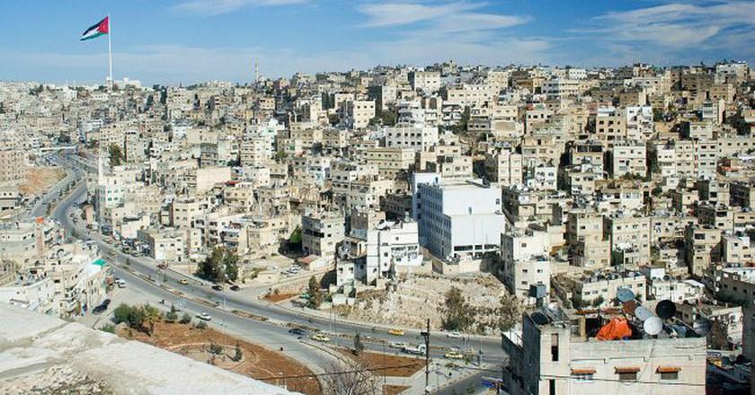 A view of Amman, the capital city of Jordan | ©David Bjorgen / WikiCommons