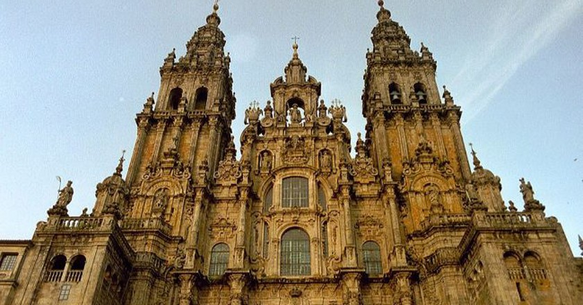 The Santiago de Compostela Cathedral, Galicia   © NielsB/WikiCommons