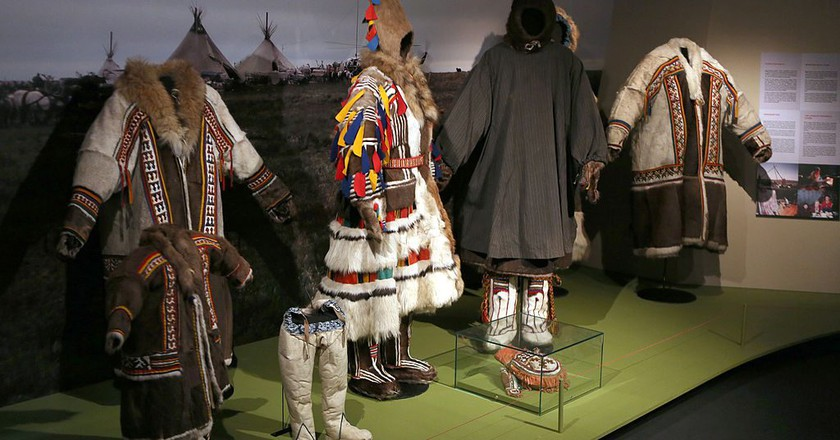 Costumes at the Siida Museum | © Manfred Werner/WikiCommons