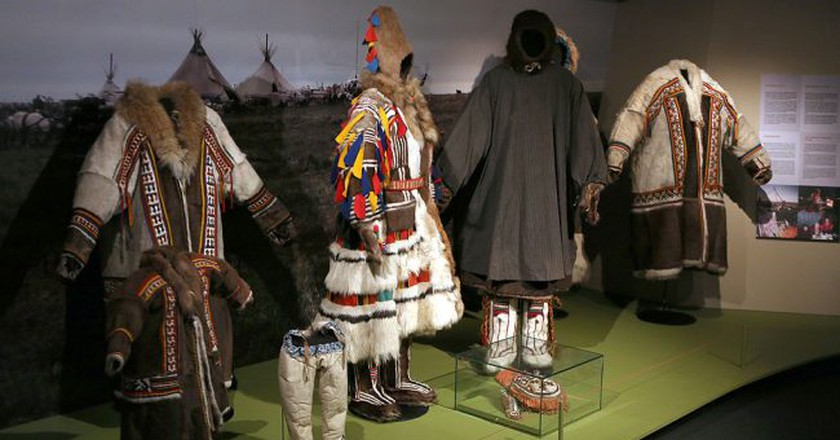 Costumes at the Siida Museum   © Manfred Werner/WikiCommons