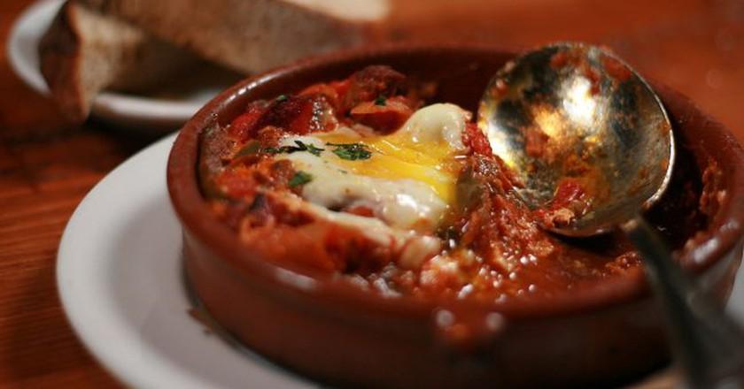 Shakshuka is Israel's most famous breakfast dish |Courtesy of Wikipedia