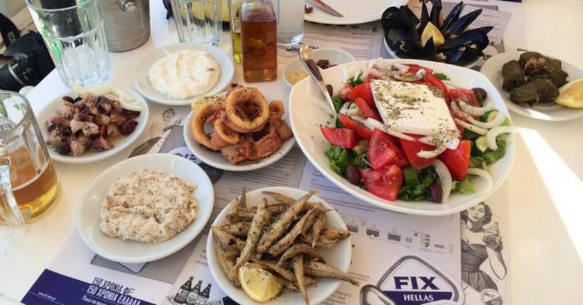 Greek deliciousness | © Ania Mendrek / Flickr
