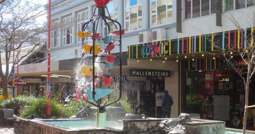 The Bucket Fountain on Cuba Street | © orinoko42/Flickr