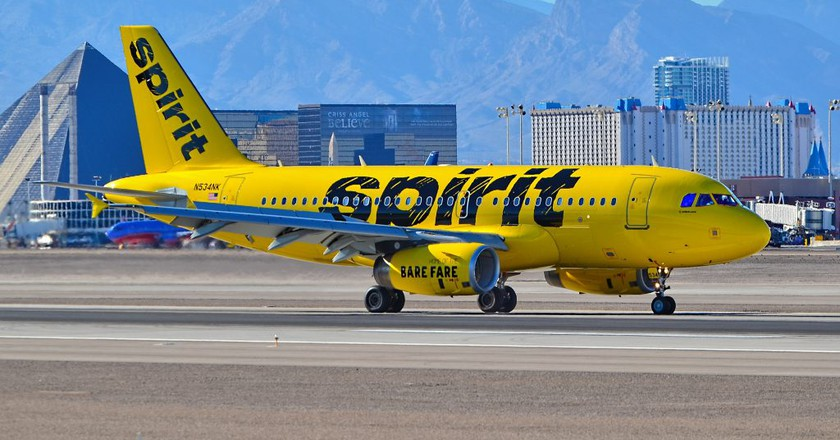 Spirit Airlines | © Tomás Del Core/Flickr