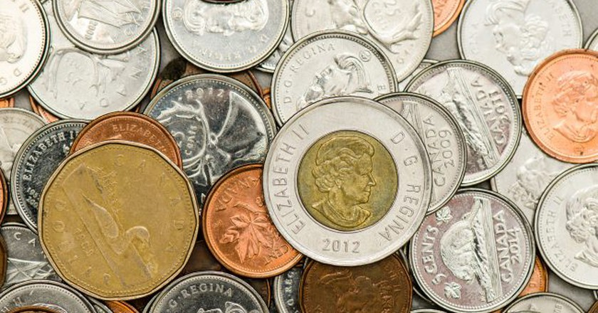 Canadian coins | © KMR Photography / Flickr