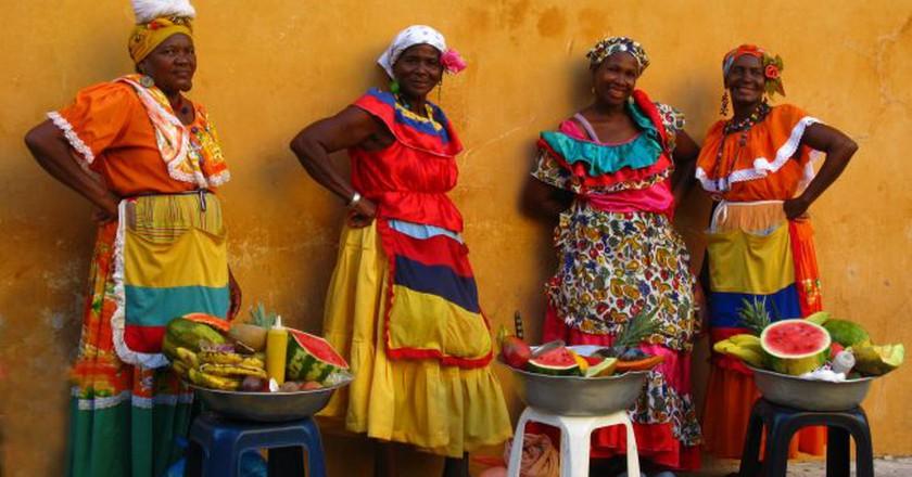 Palenqueras in Cartagena   © Luz Adriana Villa/Flickr