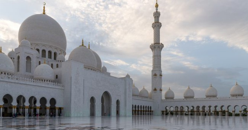 Sheikh Zayed Grand Mosque   © Gilles/Flickr