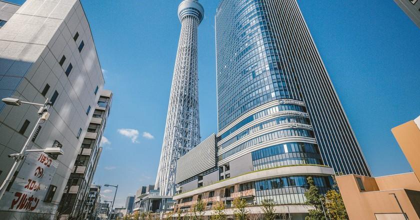 Tokyo Skytree in Sumida | © hans-johnson/Flickr