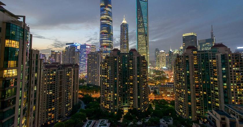 Shanghai skyline | © Stefan Wagener/Flickr