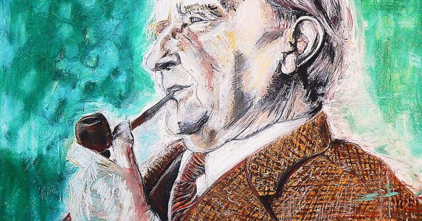 J.R.R. Tolkien, da morto   by bluinfaccia / Flickr
