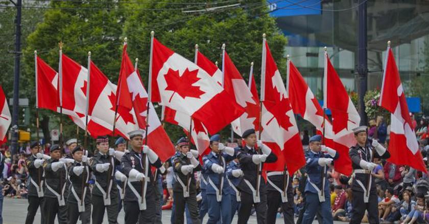 2016 Canada Day Parade  | © GoToVan / Flickr