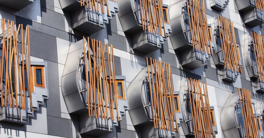 Scottish Parliament Building | ©  Bryan Pocius/Flickr