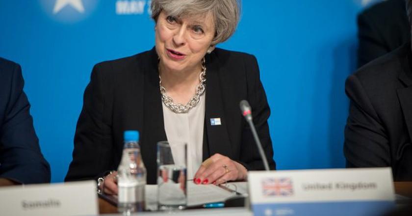 British Prime Minister Theresa May | © Jim Mattis/Flickr