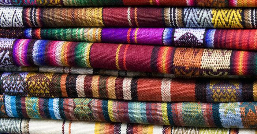 Ecuadorian textiles   © Umberto Salvagnin/Flickr