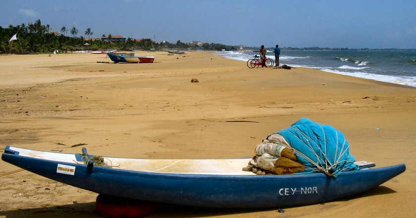 Beautiful beaches of Negombo | © Ronald Saunders/Flickr