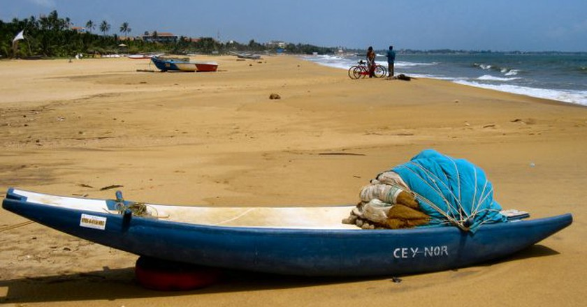 Beautiful beaches of Negombo   © Ronald Saunders/Flickr