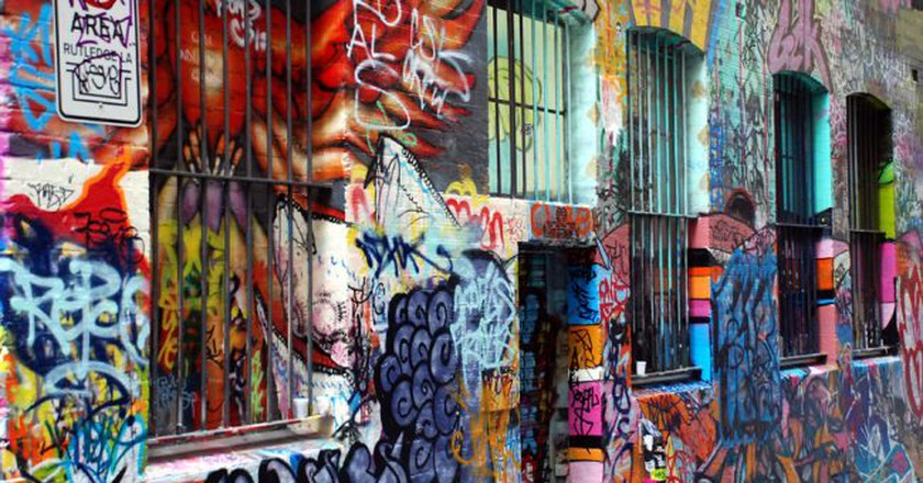 Hosier Lane/Rutledge Lane | © Geof Wilson