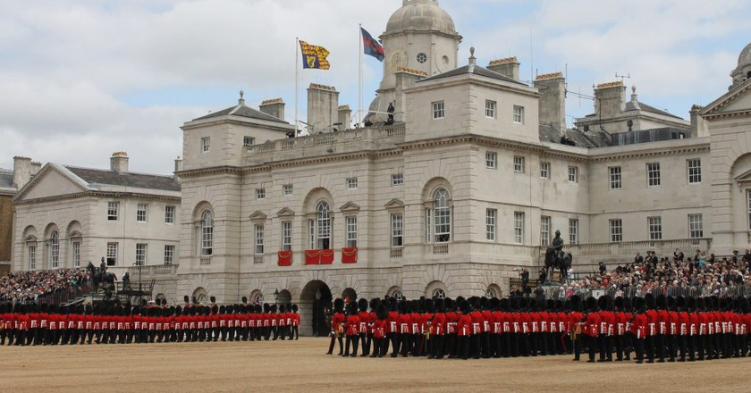 Trooping the Colour |  © Matthew Smith/Flickr