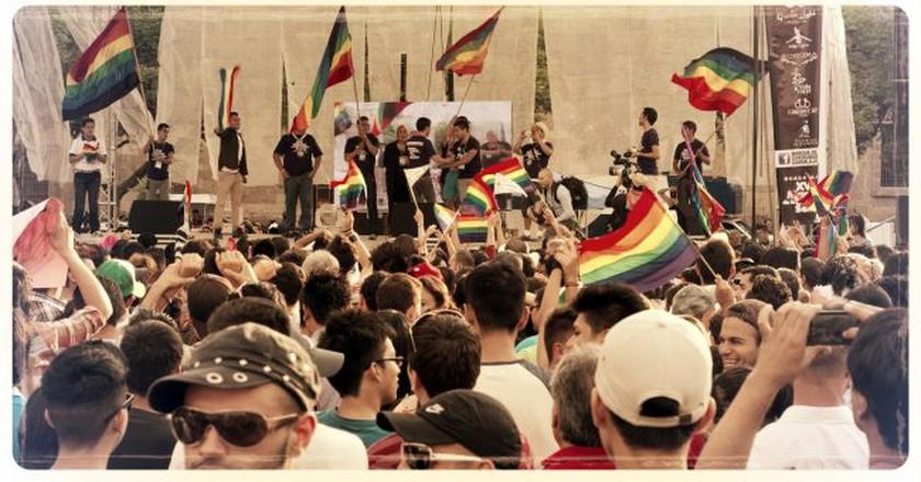 LGBT parade in Guadalajara   © Gabriel Saldana/Flickr