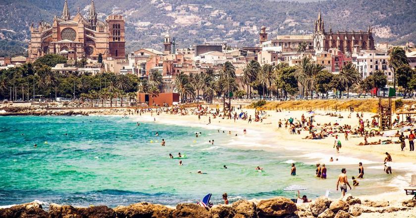 Palma city beach I © Andrés Nieto Porras/Flickr