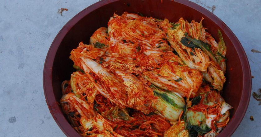 Making and sharing kimchi in Gaemi Village  | © USAG-Humphreys/Flickr