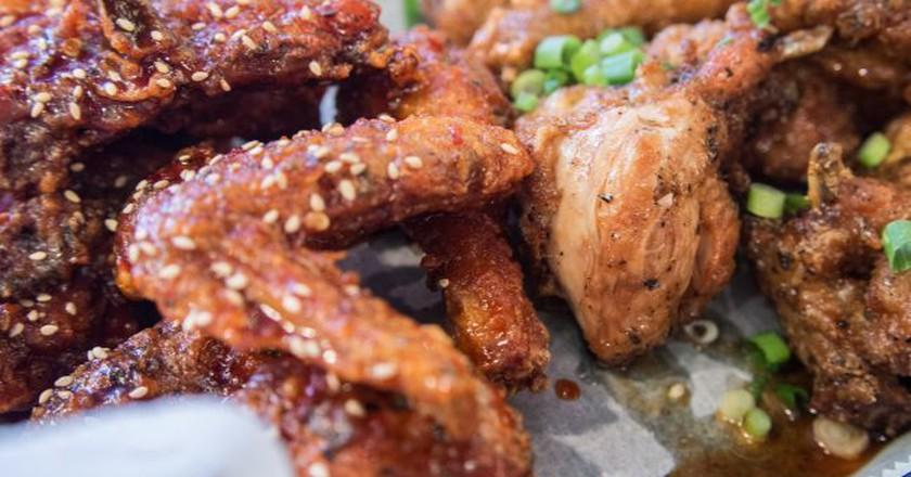 Korean Fried Chicken | © Edsel Little / Flickr