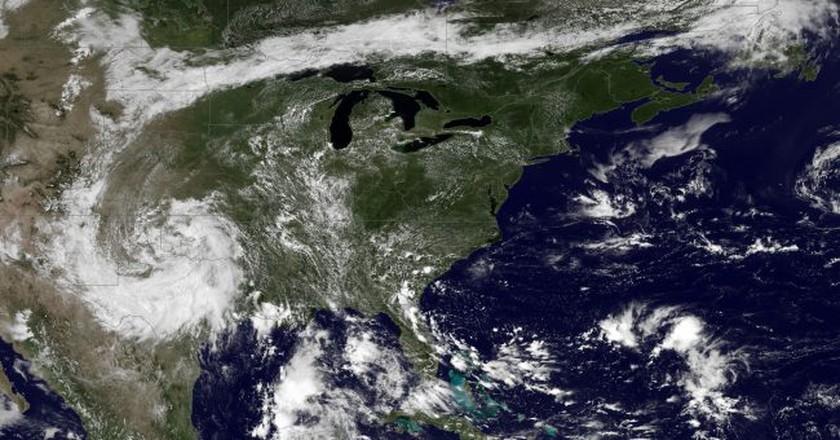 Heat waves of the USA | © NASA