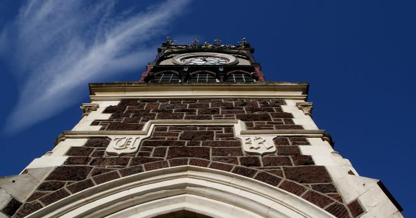 Victoria Clock Tower, Christchurch   © Bernard Spragg/Flickr