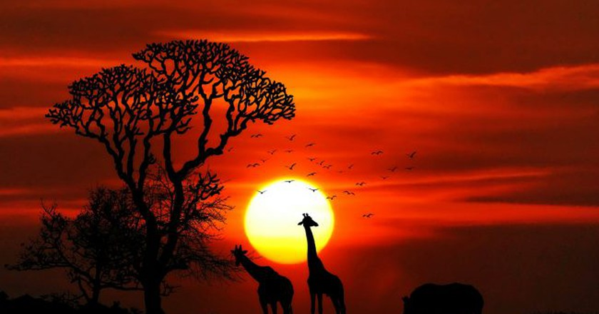 A typical African sunset | Pixabay