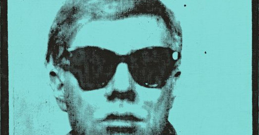 Andy Warhol, 'Self-Portrait', 1963-64 |  Courtesy Sotheby's