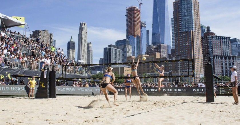 The 2017 NYC Open with One World Trade Center in the background.   © Culture Trip/Amanda Suarez