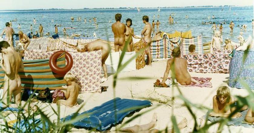 Wismarer Bucht, an FKK beach | © Bundesarchiv/WikiCommons