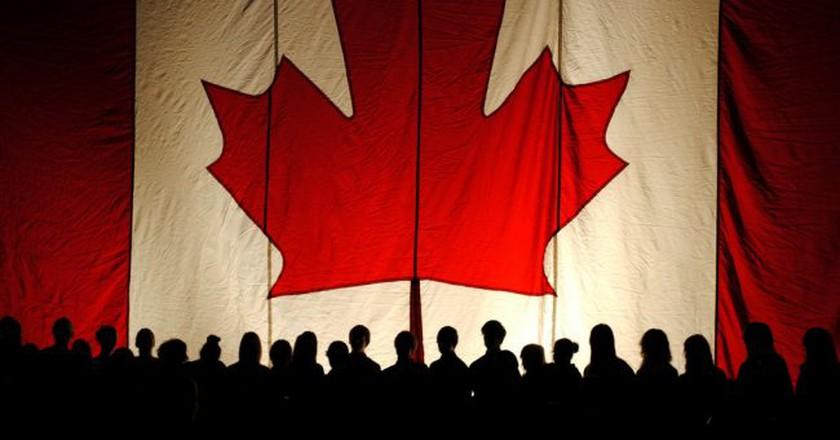 The Canadian flag | © Brandon Giesbrecht / Flickr